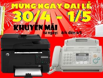 Máy in cũ giá rẻ khuyến mại lớn chào mừng 30-4 & 1-5